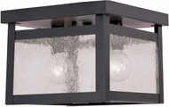 Livex 4051-07 Milford Bronze Flush Mount Ceiling Light Fixture