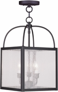 Livex 4055-07 Milford Bronze Foyer Light Fixture