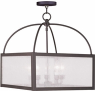 Livex 4057-07 Milford Bronze Entryway Light Fixture