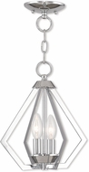 Livex 40922-05 Prism Contemporary Polished Chrome Foyer Light Fixture