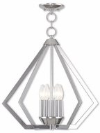 Livex 40925-05 Prism Modern Polished Chrome Foyer Light Fixture