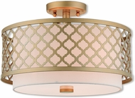Livex 41108-33 Arabesque Soft Gold Ceiling Lighting