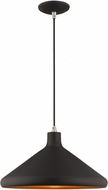 Livex 41179-04 Modern Black Pendant Light
