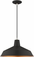 Livex 41183-04 Modern Black Drop Ceiling Lighting