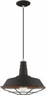 Livex 41184-04 Modern Black Ceiling Pendant Light