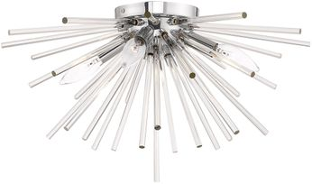 Livex 41250-05 Utopia Polished Chrome Ceiling Lighting