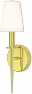 Livex 41692-02 Witten Polished Brass Wall Sconce Lighting