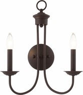 Livex 42682-07 Estate Traditional Bronze Wall Lighting