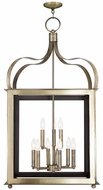Livex 43180-01 Garfield Antique Brass Foyer Lighting