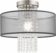 Livex 43202-91 Bella Vista Brushed Nickel Ceiling Light Fixture