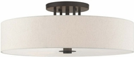 Livex 45848-92 Meridian Modern English Bronze Ceiling Lighting