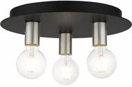 Livex 45873-04 Hillview Modern Black 14  Overhead Lighting
