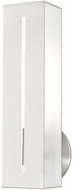 Livex 45953-91 Soma Contemporary Brushed Nickel Lighting Wall Sconce
