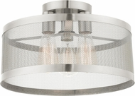 Livex 46218-91 Industro Modern Brushed Nickel Ceiling Lighting