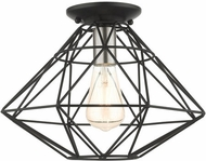 Livex 46248-04 Geometric Modern Black 14  Ceiling Lighting