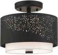 Livex 46267-04 Noria Modern Black 12  Ceiling Lighting Fixture