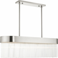 Livex 49826-91 Norwich Brushed Nickel Island Lighting