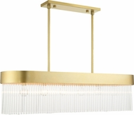 Livex 49830-33 Norwich Solid Gold Kitchen Island Lighting
