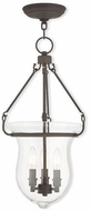 Livex 50296-07 Canterbury Bronze Foyer Lighting Fixture