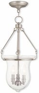Livex 50296-91 Canterbury Brushed Nickel Foyer Lighting