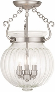 Livex 50504-91 Everett Brushed Nickel Home Ceiling Lighting