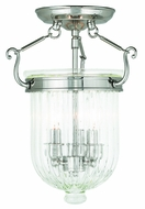 Livex 50514-35 Coventry Polished Nickel Ceiling Light