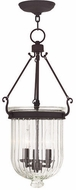 Livex 50517-07 Coventry Bronze Entryway Light Fixture