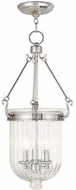 Livex 50517-35 Coventry Polished Nickel Foyer Lighting