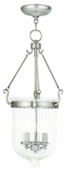 Livex 50517-91 Coventry Brushed Nickel Entryway Light Fixture