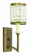 Livex 50561-64 Grammercy Hand Painted Palacial Bronze Wall Lamp