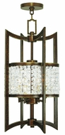 Livex 50566-64 Grammercy Hand Painted Palacial Bronze Foyer Lighting