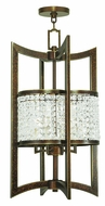 Livex 50567-64 Grammercy Hand Painted Palacial Bronze Foyer Lighting Fixture