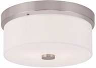 Livex 50862-91 Meridian Brushed Nickel Ceiling Lighting Fixture