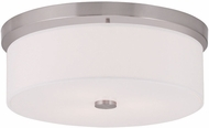 Livex 50864-91 Meridian Brushed Nickel Overhead Lighting