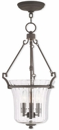 Livex 50924-07 Cortland Contemporary Bronze Foyer Light Fixture