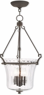 Livex 50926-07 Cortland Contemporary Bronze Entryway Light Fixture