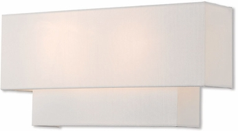 Livex 51047-91 Claremont Brushed Nickel Wall Sconce Lighting