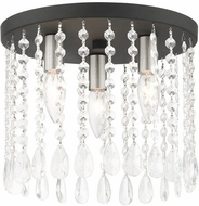 Livex 51067-04 Elizabeth Black 11  Overhead Lighting Fixture