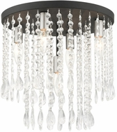 Livex 51068-04 Elizabeth Black 14  Ceiling Light