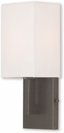 Livex 51101-07 Hollborn Modern Bronze Light Sconce