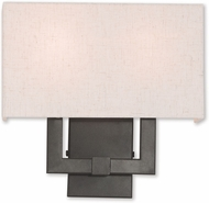 Livex 52132-92 Meridian English Bronze Wall Sconce Light
