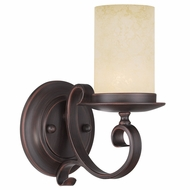 Livex 5481-58 Millburn Manor Imperial Bronze Wall Light Sconce