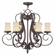 Livex 5486-58 Millburn Manor Imperial Bronze Lighting Chandelier