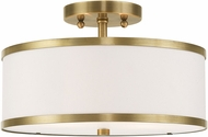 Livex 62627-01 Park Ridge Antique Brass Ceiling Lighting