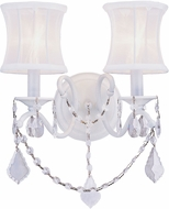 Livex 6302-03 Newcastle White Light Sconce