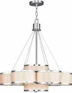 Livex 6346-91 Park Ridge Brushed Nickel Lighting Chandelier