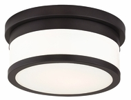 Livex 65501-07 Stafford Bronze 10  Overhead Lighting Fixture