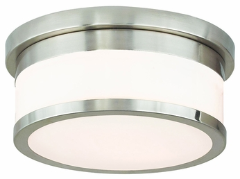 Livex 65501-91 Stafford Brushed Nickel 10  Ceiling Lighting