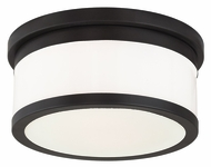 Livex 65502-07 Stafford Bronze 11.75  Ceiling Light