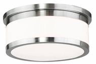 Livex 65503-91 Stafford Brushed Nickel 13.75  Ceiling Light Fixture